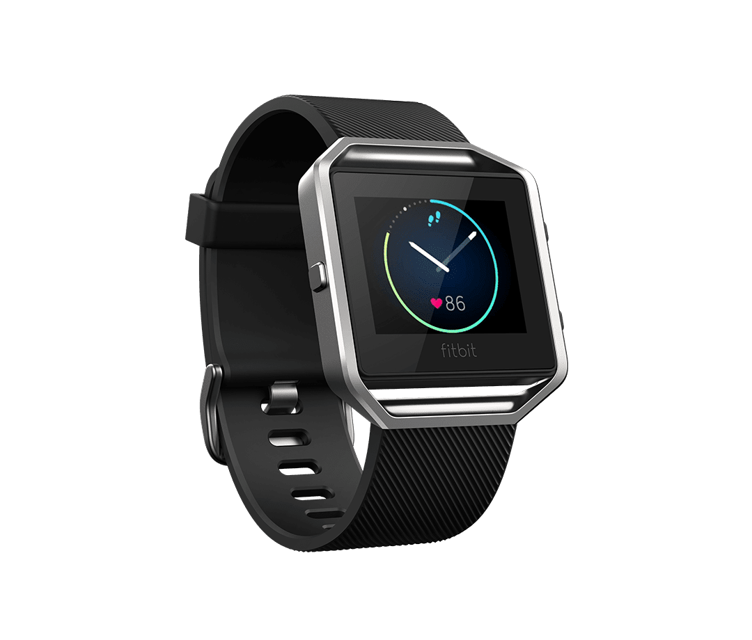 Fitbit Blaze Black Image