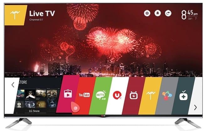 LG LB7200 TV Image