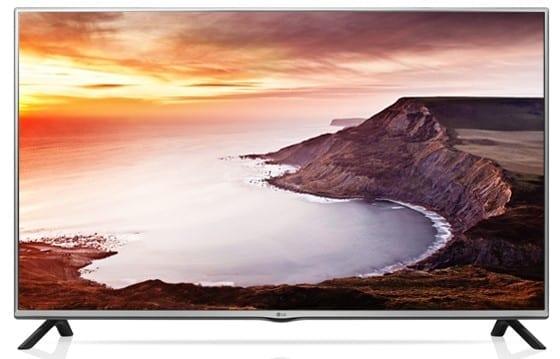 LG LF550 Game TV Image