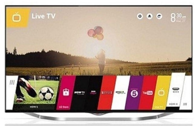 LG UB850T Smart TV Image