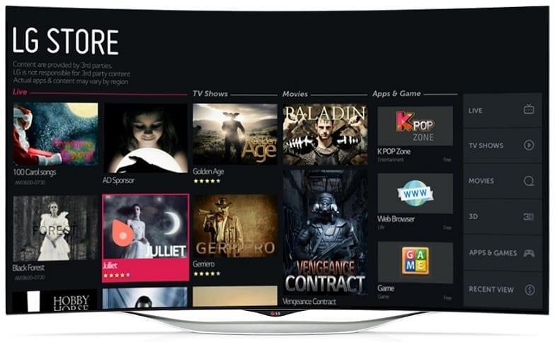 LG UB980T 79-inch TV Image