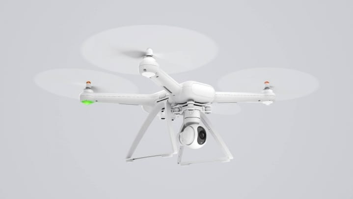 Xiaomi Mi Drone in Flight Image