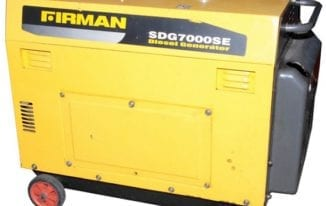 Firman Diesel Generator Price & Features