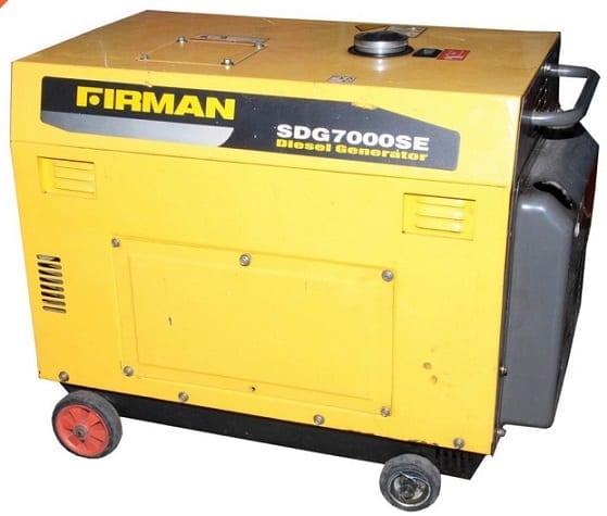 Firman Diesel Generator Image