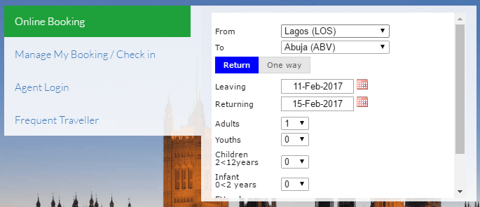 Med-View Air Booking