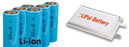 Li-ion Battery and Li-Po Battery