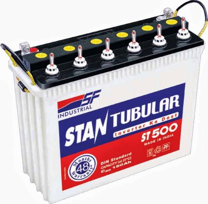 Tubular Battery Image
