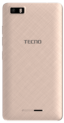 Tecno W3 Rear View