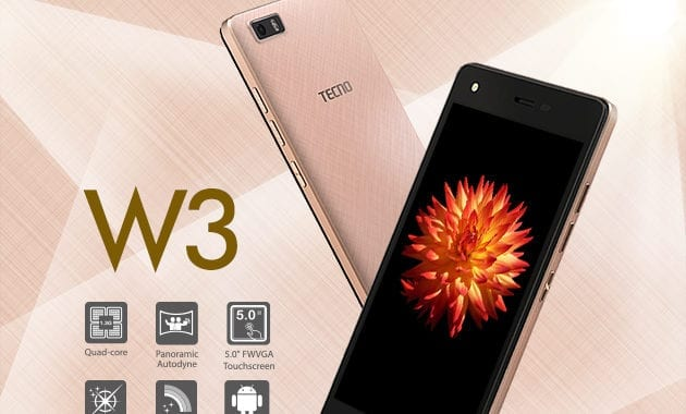Tecno W3 Specs, Review & Price