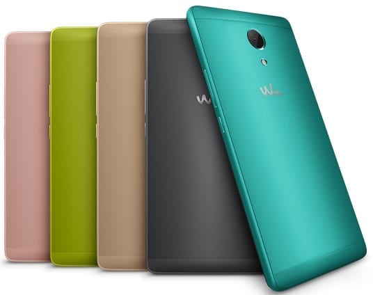 Wiko Robby Rear View
