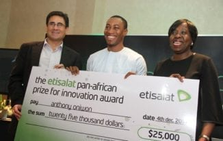 Etisalat Prize for Innovation Announces 2016 Call for Entries