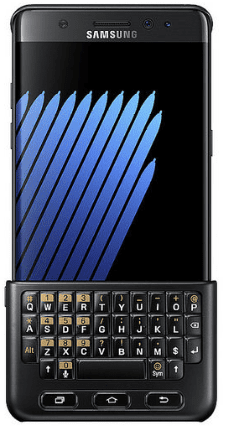 Galaxy Note 7 Keyboard Cover