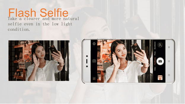 Gionee F103 Pro Flash Selfie