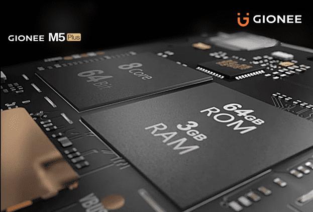 Gionee M5 Plus Chipset