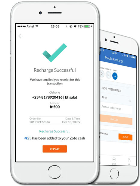 Zoto Mobile Recharge App Featured