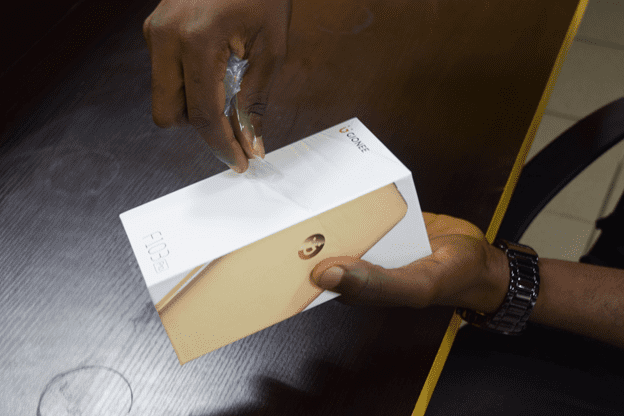Gionee F103 Pro Box Opening
