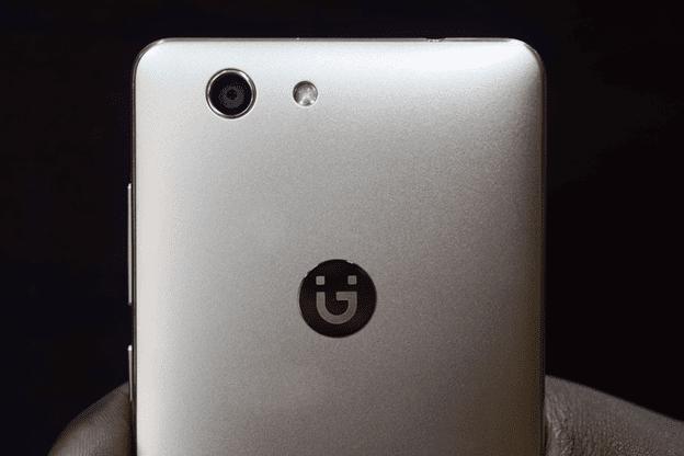 Gionee F103 Pro Rear View Showing the Camera and LED Flash