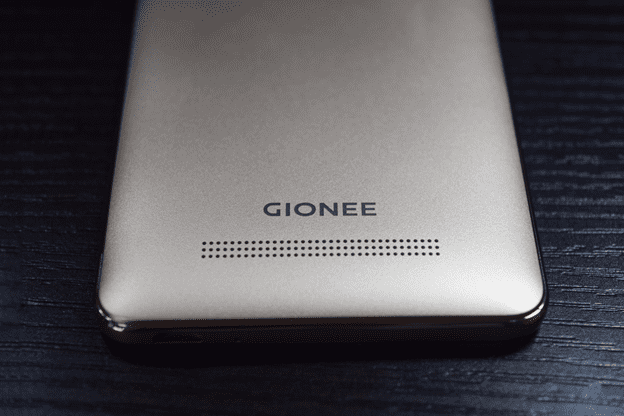 Gionee F103 Pro rear view showing the Speaker