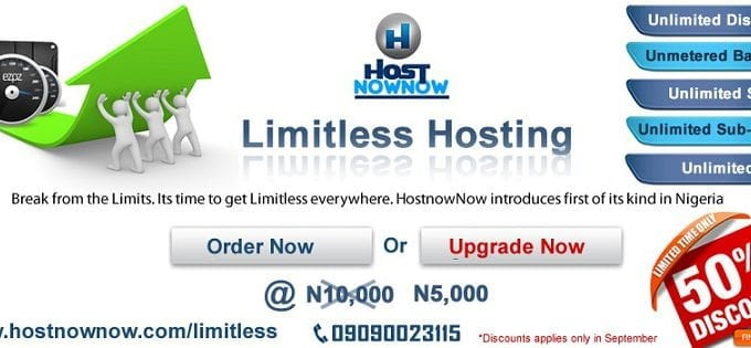 HostNowNow Excites Clients with Limitless Web Hosting Promo