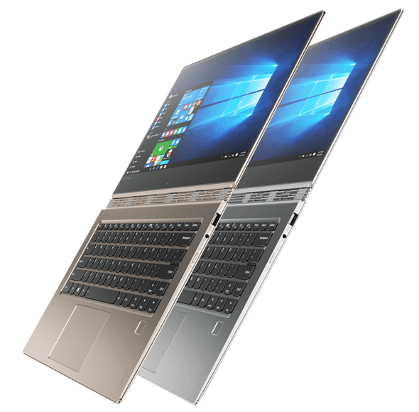 Lenovo Yoga 910 in Flat
