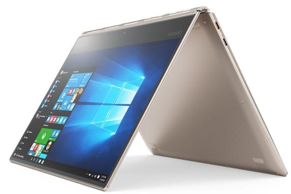 Lenovo Yoga 910 in Tent Mode