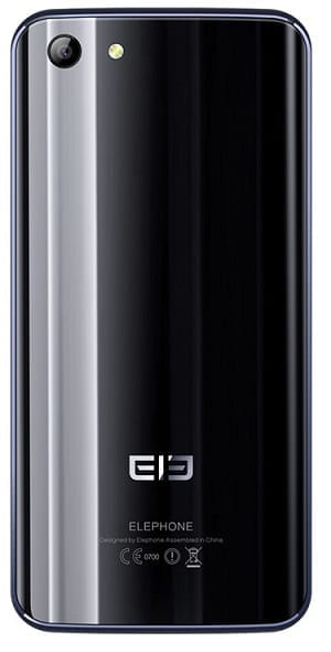 Elephone S7 Rear View