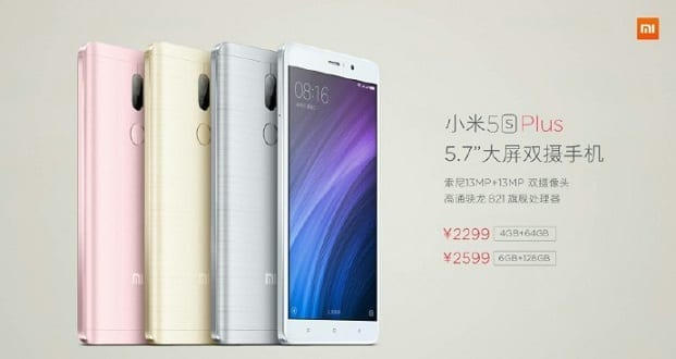 Xiaomi Mi 5S Plus Featured