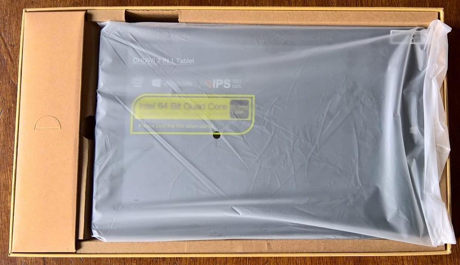 Chuwi Hi10 Pro in the Box