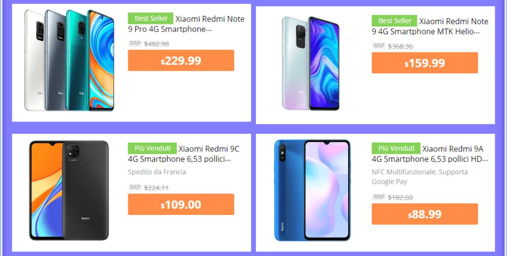 Xiaomi Deals on Gearbest 11 11 2020