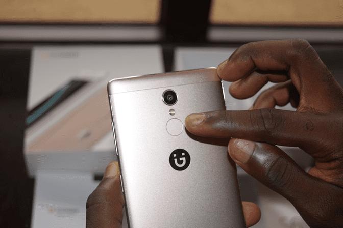 Gionee S6s Fingerprint Sensor