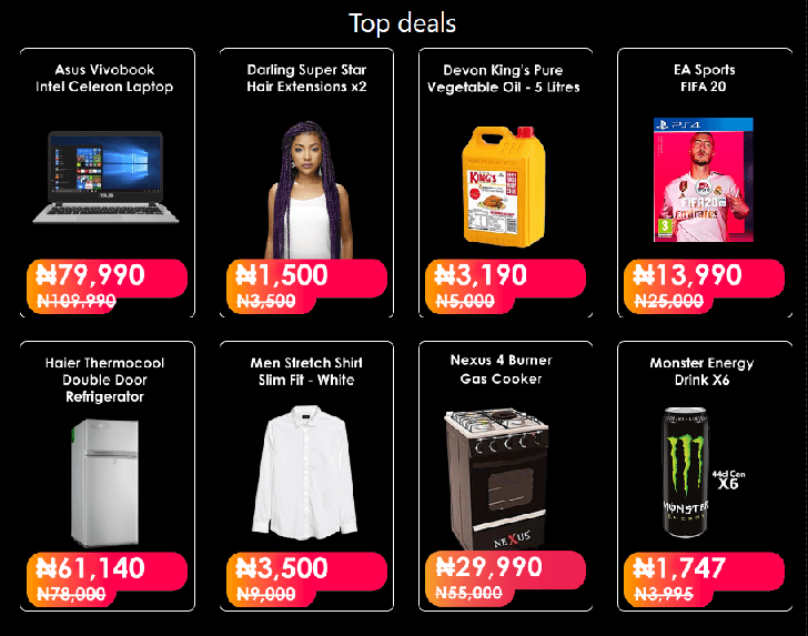 Jumia Black Friday Top Deals