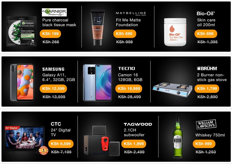 Black Friday Deals on Jumia Kenya