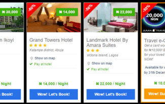 Jumia Travel Black Friday Hotel Deals