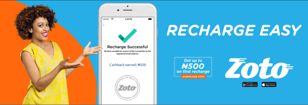 Zoto Mobile Recharge App