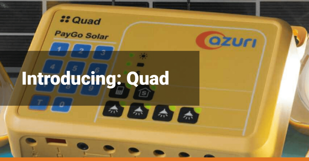 Quad Solar Home System by Azuri