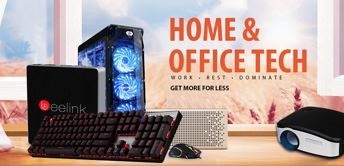 Home and Office Tech Flash Sale from Gearbest