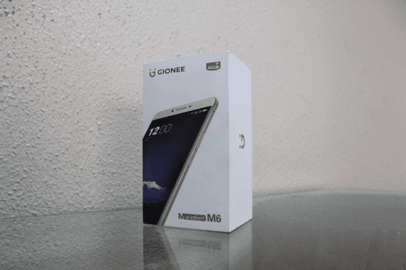 Gionee M6 Unboxing