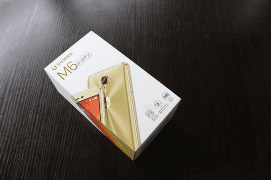 Gionee M6 Mirror Box