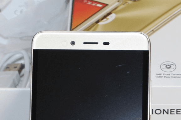 Gionee M6 Mirror 8 megapixels front camera