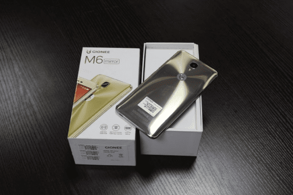 Gionee M6 Mirror Unboxing