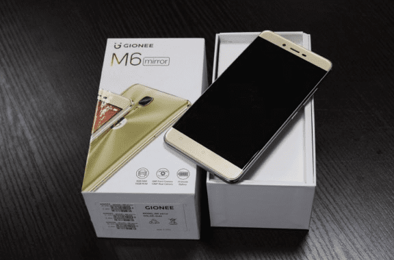 Unveiling the Gionee M6 Mirror: a Phone Bigger than your needs