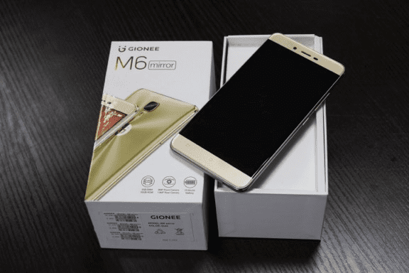 Unboxing the Gionee M6 Mirror
