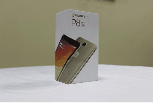 Gionee P8w Box