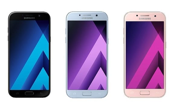 Samsung Galaxy ASeries 2017, A7, A5, A3