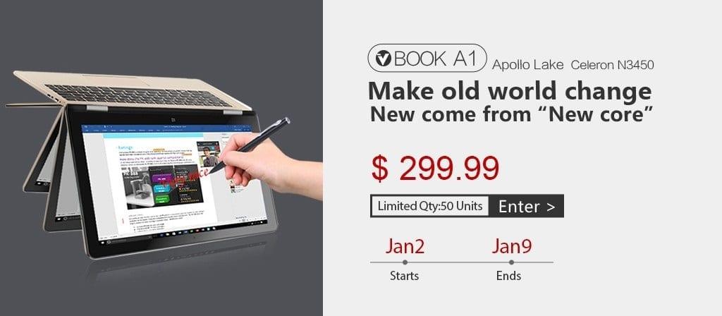 Voyo VBook A1 Flash Sale on Gearbest