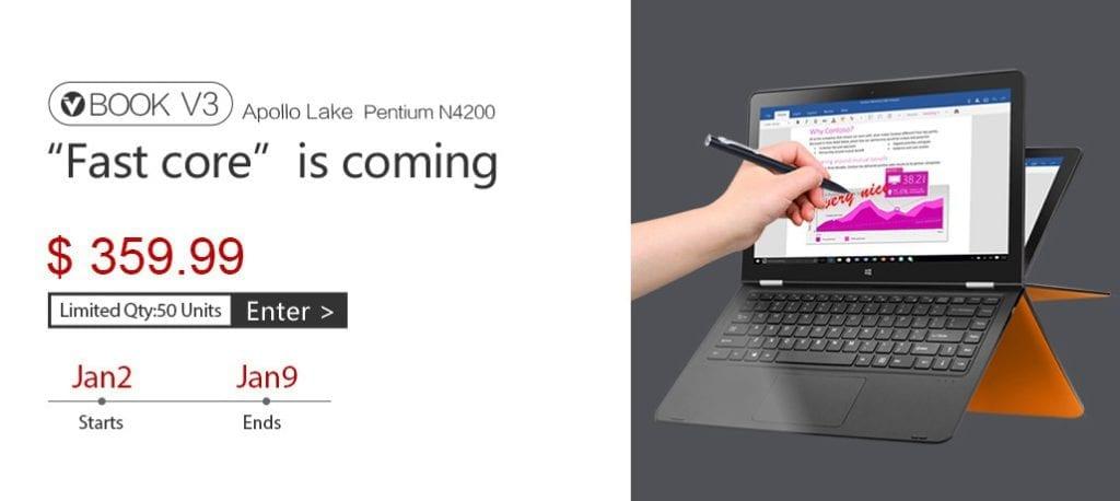Voyo VBook V3 Flash Sale on Gearbest