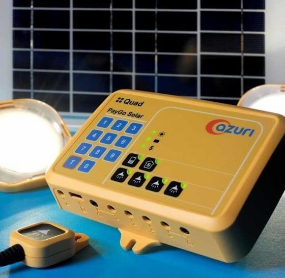 Azuri Quad Solar Home System