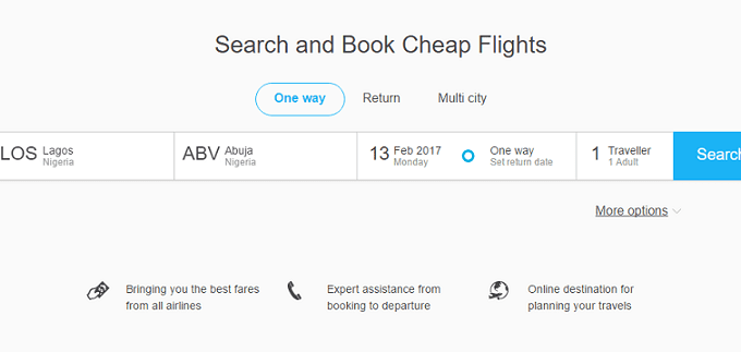 15,000 Naira Off any International Flight Booked (Coupon Inside)