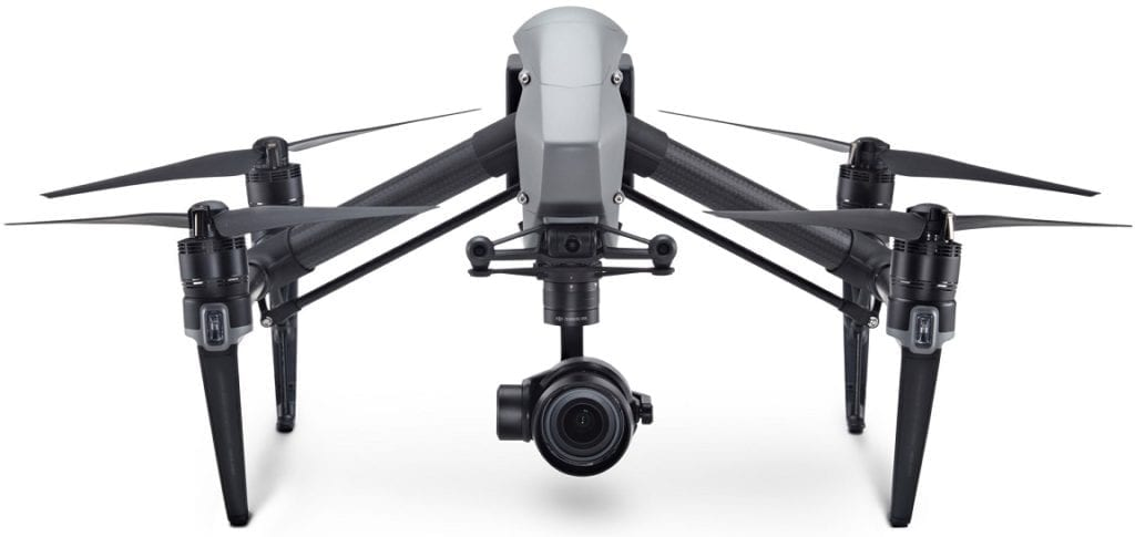 DJI Inspire 2 with Zenmuse X5S camera attached