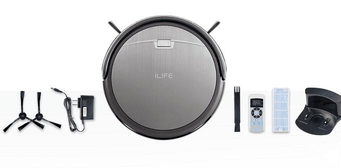 iLife A4S Smart Robotic Vacuum Cleaner Specs & Price
